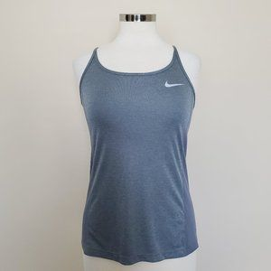 Nike Dri-Fit Gray Grey Racer Back Tank Size Small